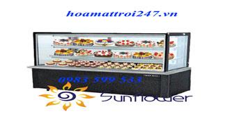 Công ty Hoa Mặt Trời nơi báo giá tủ lạnh trưng bày bánh kem rẻ nhất tại Hà Nội
