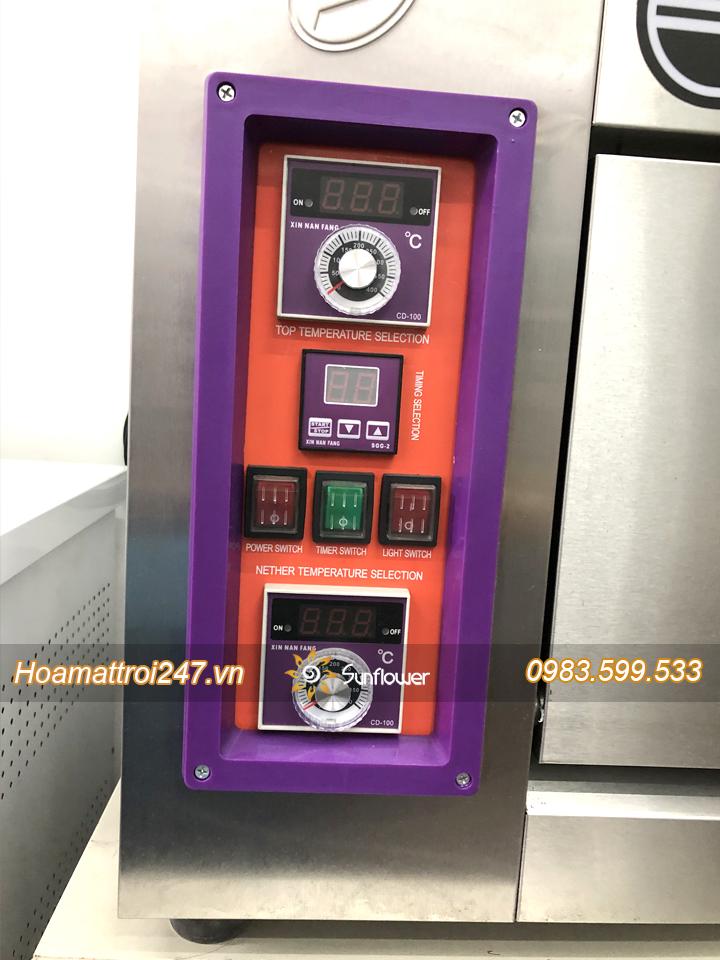 Bảng điều khiển nhiệt độ lò nướng bánh 1 tầng 2 khay Southstar