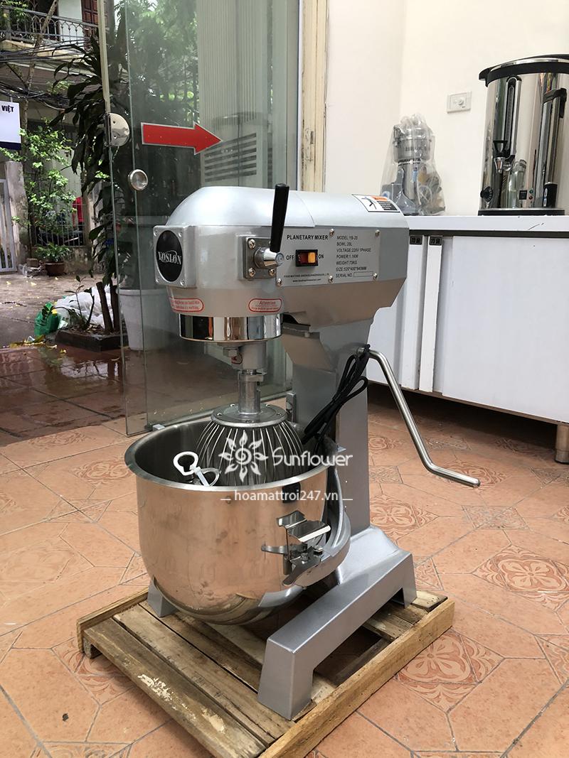 Máy đánh kem trứng YB-15 lựa chọn hoàn hảo cho các tiệm bánh..