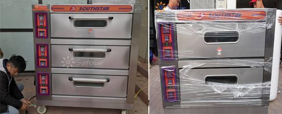 Lò nướng bánh mì2 tầng 4 khay và 3 tầng 6 khay Southstar