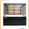 tủ trưng bày bánh kem vuông 3 tầng