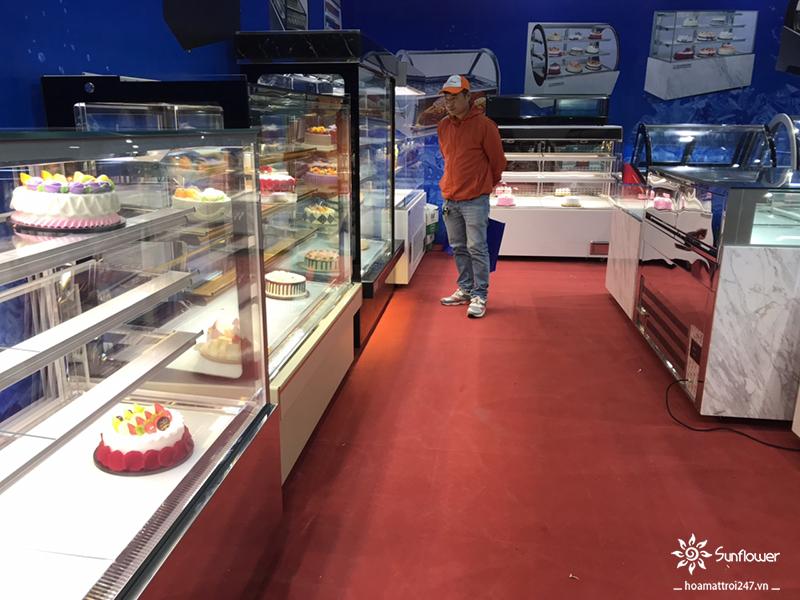 Hoa Mặt Trời - Nơi bán tủ trưng bày bánh sinh nhật rẻ nhất thị trường hiện nay