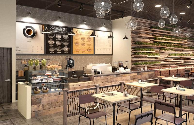 Tủ bánh nhỏ cho quán cafe thêm thu hút chính là một phương thức kinh doanh đang rất thành công trong thời gian gần đây