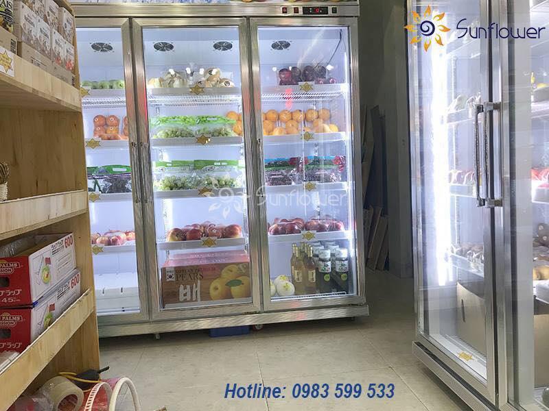 Thực phẩm luôn tươi ngon nhờ hệ thống làm lạnh hiện đại nhất