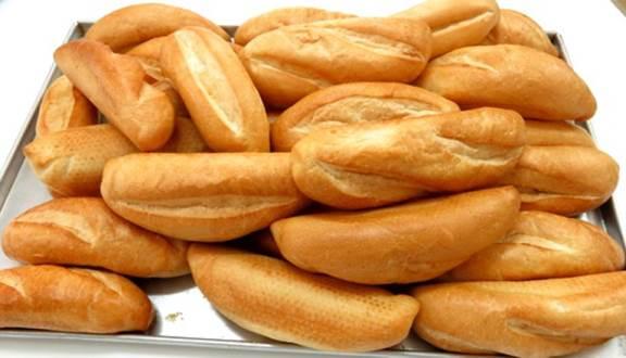 Bánh sau khi nướng bằng lò xoay nở đều, nhanh, giòn và rất thơm ngon