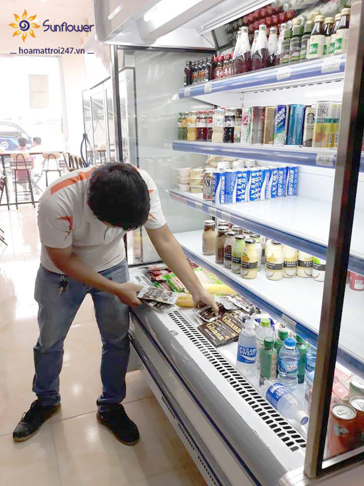 Thực phẩm bảo quản trong tủ mát phải được sắp xếp một cách hợp lý