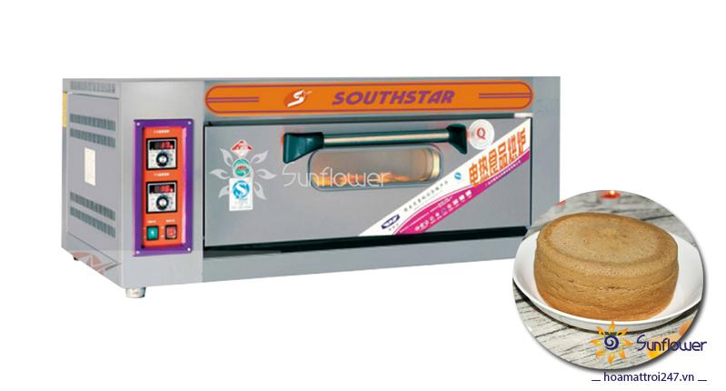 Lò công nghiệp nướng bánh nở đều, bông xốp, mềm mịn, lên màu chuẩn