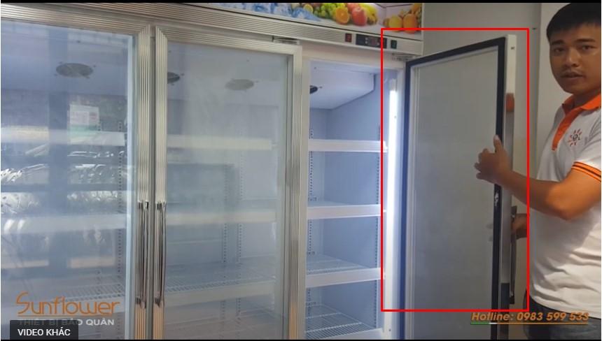 Gioăng tủ mát bị hở cũng là một trong số những nguyên nhân gây nên tình trạng tủ mát bị đổ mồ hôi