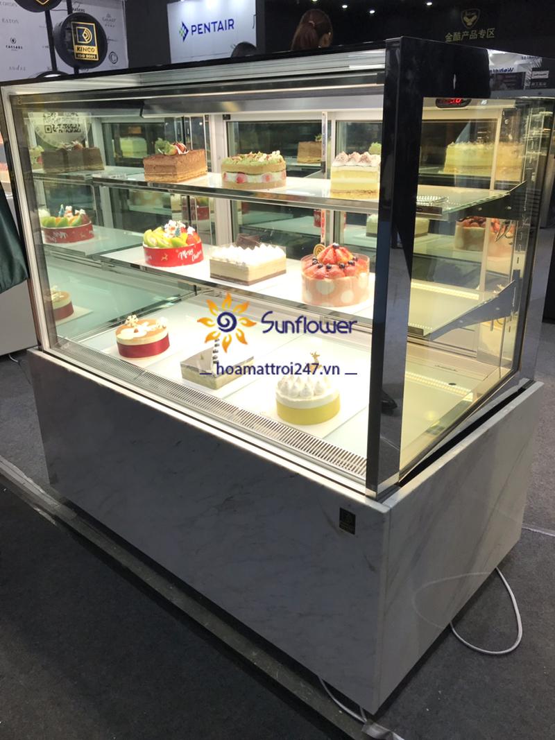 Hoa Mặt Trời chuyên nhập khẩu và phân phối tủ bánh kem chất lượng tốt nhất thị trường