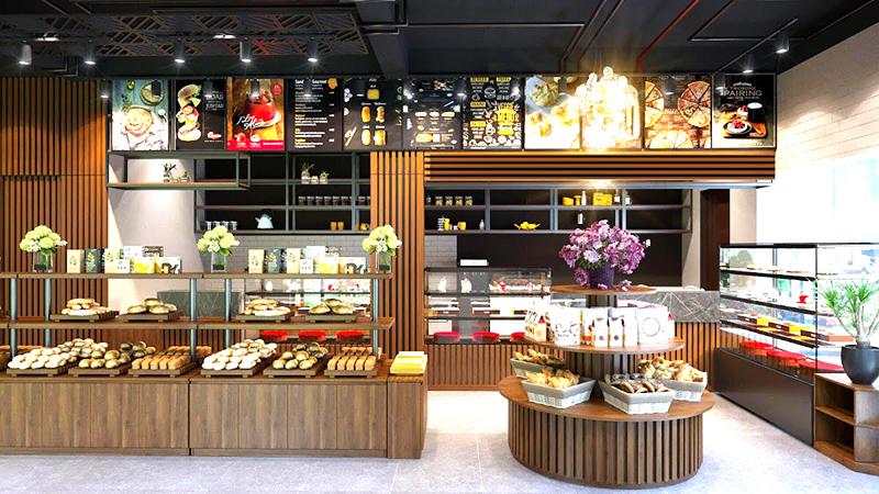 Lựa chọn Vị trí đặt tủ bày bánh kem hợp lý sẽ thu hút khách hàng hiệu quả nhất