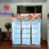 Tủ mát 3 cánh kính sở hữu công nghệ làm lạnh tiên tiến bậc nhất hiện nay