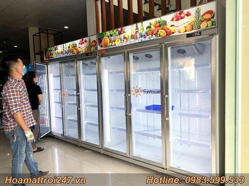 Dòng tủ mát 3 cánh kính model SFLC-1860F sở hữu công nghệ tân tiến nhất 2020