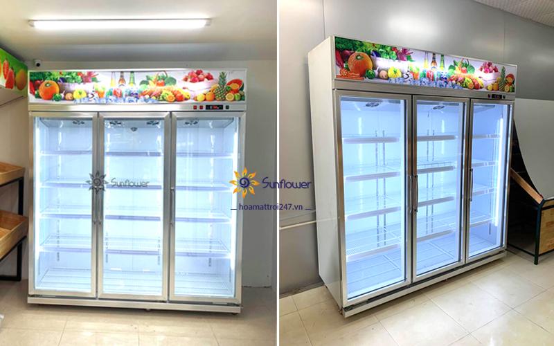 Tủ mát Sunflower sở hữu nhiều tính năng cực thông minh, hiện đại và siêu tiết kiệm điện.