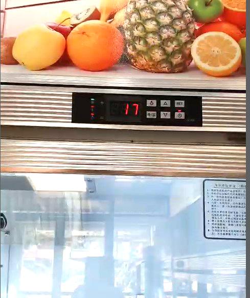 Đồng hồ điện tử thông minh sẽ hiển thị nhiệt một cách chính xác nền nhiệt trong tủ
