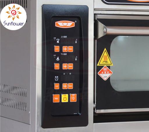 Bảng điều khiển nhiệt độ 100% phím điện tử rất dễ sử dụng