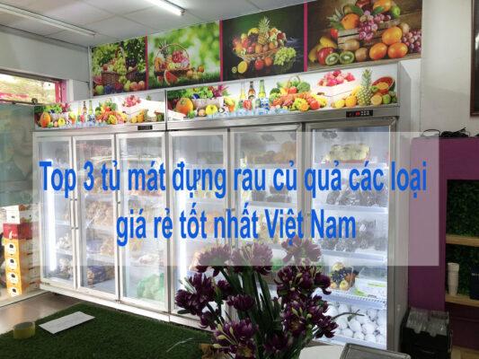 Top 3 tủ mát đựng rau củ quả giá rẻ tốt nhất Việt Nam.