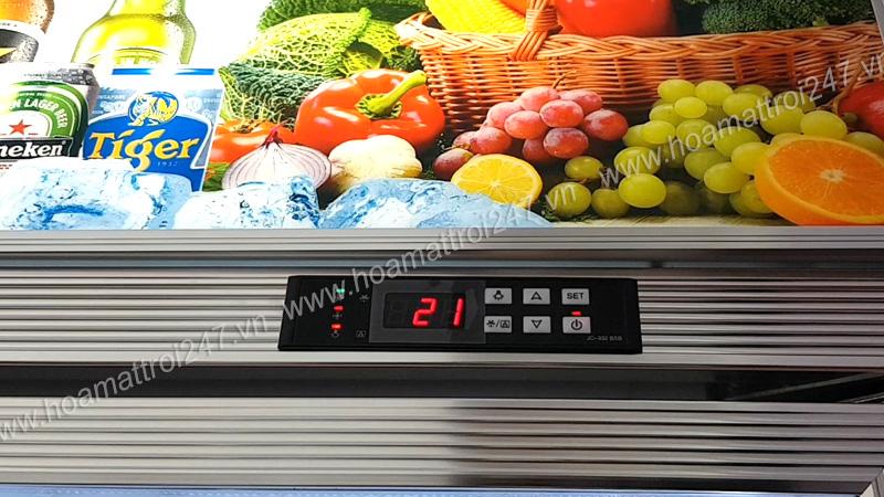 Bảng điều khiển nhiệt độ rất dễ sử dụng