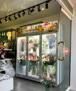 tủ bảo quản hoa tươi cao cấp