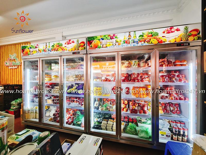 Tủ mát bảo quản trái cây