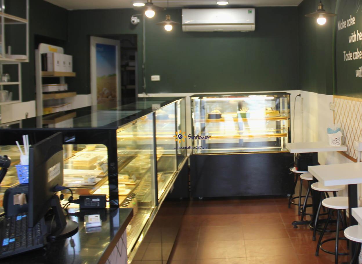 Mua tủ trưng bày bánh kem tại Hà Nội.